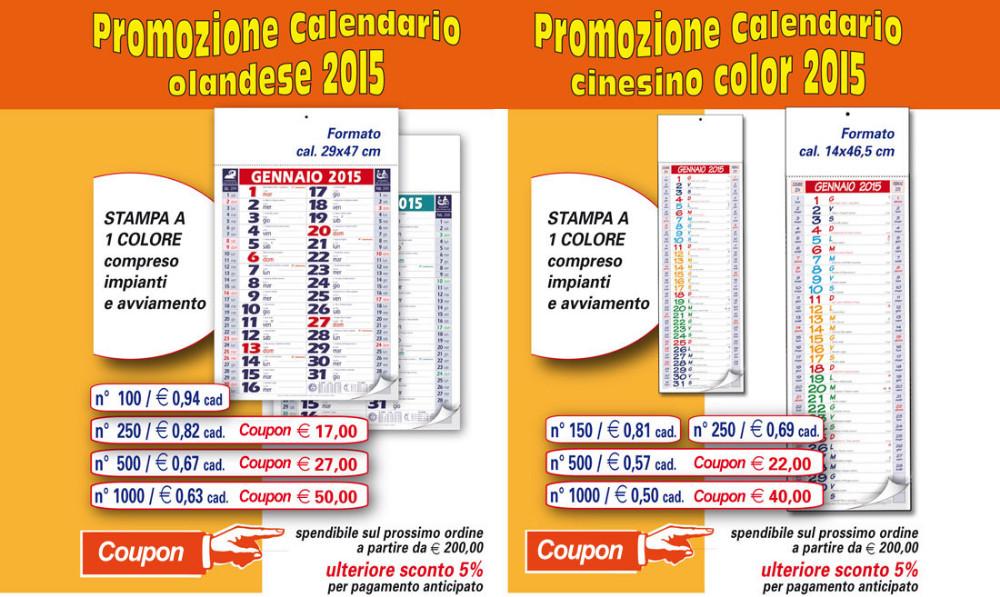 Calendario Con Foto Personali.Offerte Calendari Cinesino E Olandesegadget Da Regalare